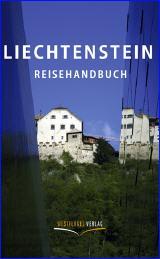 Liechtenstein Reisehandbuch, Umschlag, Copyright Westflügel Verlag