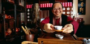Traditionelle Teezeremonie in Hongkong