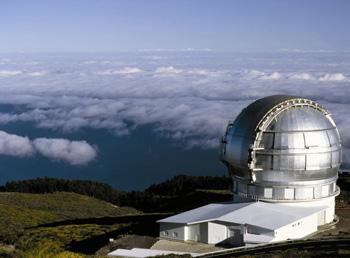 Idealer Ort für Sternengucker: die Kanareninsel La Palma