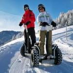 Kuriose Wintersportarten in den Alpen