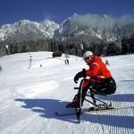 Barrierefreier Winterurlaub mit dem Monoski