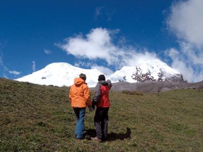 Auf Schusters Rappen lässt sich rund um Quito einiges entdecken. (Foto uito Visitors' Bureau)