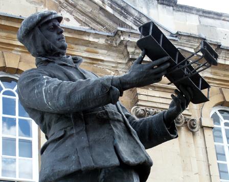 Die Kleinstadt Monmouth in Wales will die erste Wikipedia-Stadt der Welt werden. (Foto Karsten-Thilo Raab)