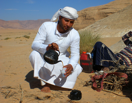 Wüstenwunderland inmitten Jordaniens: Das Wadi Rum. (Foto: Karsten-Thilo Raab)