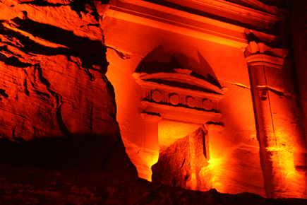Weniger berühmt, aber nicht weniger spektakulär als Petera ist das nahegelegene Klein-Petra. (Foto: Karsten-Thilo Raab)