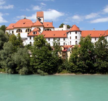 Ziel- und Endpunkt des Lechwegs ist Füssen im Allgäu. (Foto Karsten-Thilo Raab)