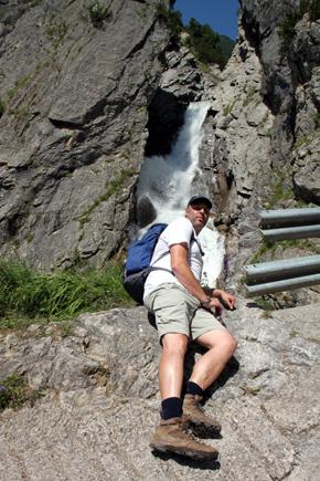 Die Höhenbachschlucht mit dem Simms-Wasserfall. (Foto Ulrike  Katrin Peters)