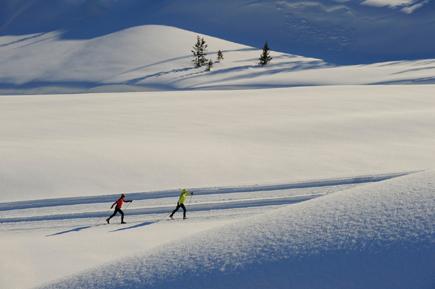 Lech Zuers am Arlberg Langlauf 1 by Sepp Mallaun © LZTG
