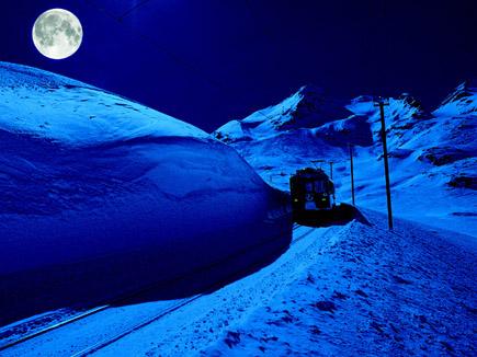 Räthische Bahn, Foto Schweiz Tourismus
