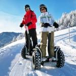 Schneespaß abseits von Wintersport und Hüttengaudi