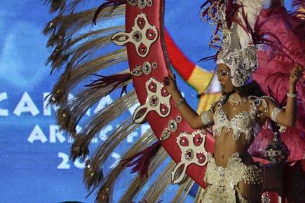 1Drag-Queen,  Karneval auf  Lanzarote, Copyright Udo Haafke