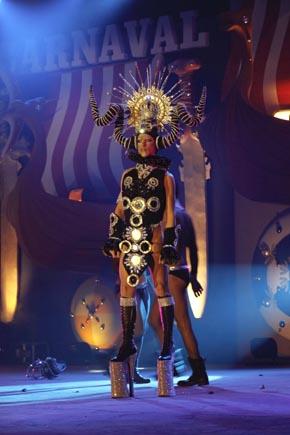Drag-Queen,  Karneval auf  Lanzarote, Copyright Udo Haafke