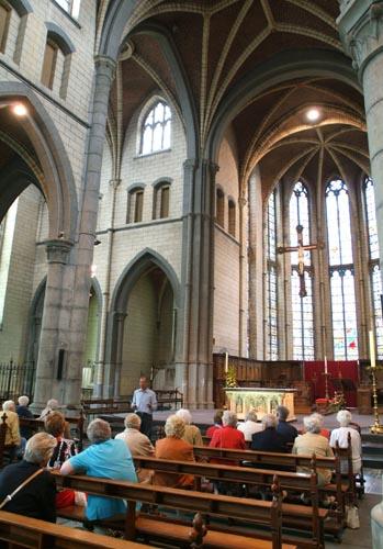 Eglise Belgique Wallonie Aubel Abbaye du Val Dieu brasserie