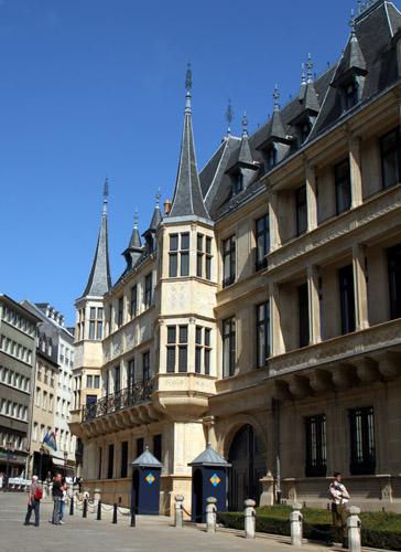 Großherzöglicher Palast, Luxemburg-Stadt, Copyright Karsten-Thilo Raab