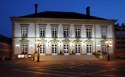 Hotel de Ville, Luxemburg-Stadt, Copyright Karsten-Thilo Raab