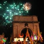 Ooh, what a night! Gigantische Partynacht in Irland Feier-Kapitale Dublin