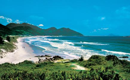 Praia de Garopaba, Copyright Embratur