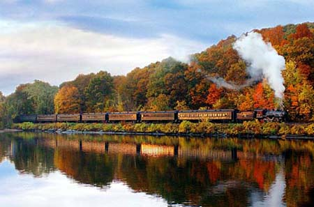 Essex Steam Train in Connecticut (Copyright Jody Dole)