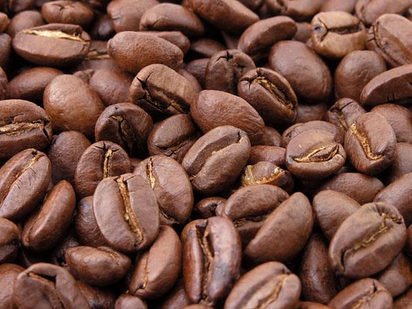 Kolumbianische Kaffeebohnen, Foto Mark Sweep