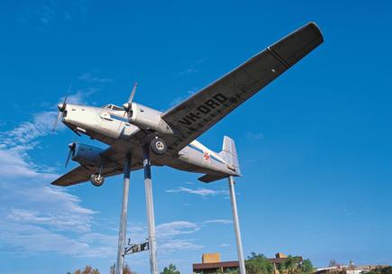 RFDS_VisitorCentre_ MountedAeroplane