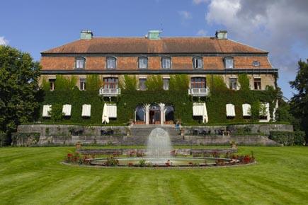 Prachtbau: Das Jugendstilschloss Bjertorp bei Kvänum. (Copyright Udo Haafke)