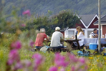 Nicht wenige schwedische Campingplätze bestechen durch ihre landschaftlich reizvolle Lage. (Copyright Udo Haafke)