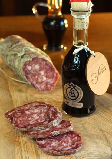 Ein Genuss: Aceto balsamico tradizionale di Reggio Emilia