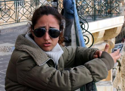 Ein Star auf Gozo und in Malta: Sängerin Audrey Marie Bartolo. (Copyright Karsten-Thilo Raab)