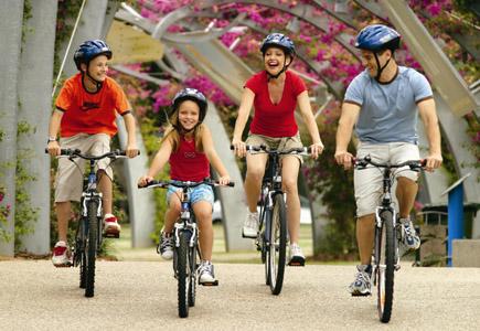 Auf geführten Fahrrad-Touren können Urlauber Queenslands Hauptstadt auf aktive Art entdecken