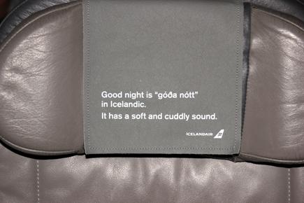 Statt leichter Schläge auf den Hinterkopf kleine Lektionen auf der Kopfstütze. (Copyright Karsten-Thilo Raab)