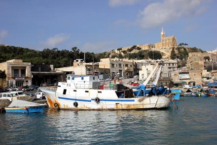 Der Hafen von Mgarr auf Gozo. (Copyright Karsten-Thilo Raab)