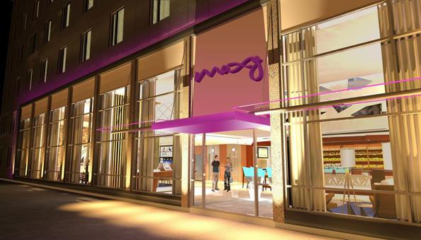 Soll 2014 an den Start gehen: Ikeas Hotelkette Moxy. (Foto: Moxy Hotels)