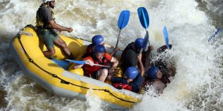 Wild-Water-Rafting-Saison in West Virginia beginnt