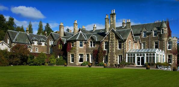 Jetzt in der Hand von Tennisstar Andy Murray: das mondäne Cromlix House. (FOTO: ICMI)