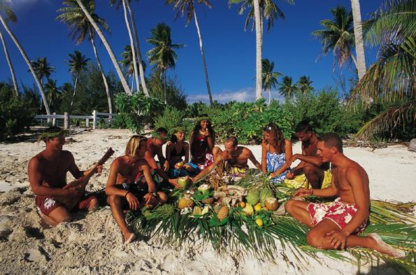 Urlaubsparadies in der Südsee: Tahiti (Foto Alain Nyssen)
