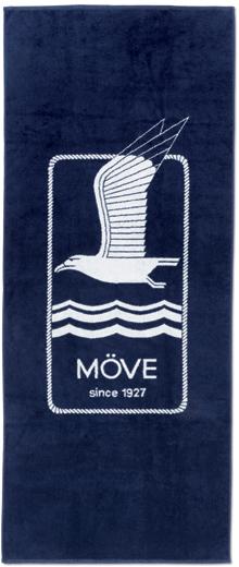 """Bietet reichlich Liegefläche: Das Beachtowel """"Vintage Logo"""" aus dem Hause Möve."""