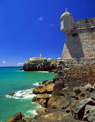 Ein famoses Kleinod: Die Festung São João Baptista.