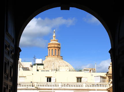 Blick auf Our Lady of Mount Carmel. (Foto Karsten-Thilo Raab)