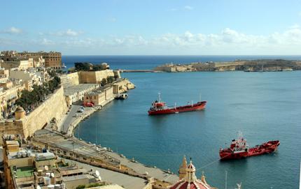Der Grand Harbour ist der größte Naturhafen der Welt. (Foto Karsten-Thilo Raab)