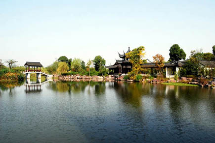 In den Xixi Wetlands von Hangzhou (Foto Hangzhou Tourism Commission)