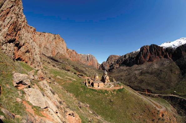 Eine der berühmtesten Landmarken Armeniens: Das Kloster Noravank. (Fotos Hrair Hawk)