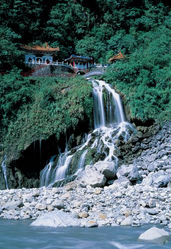 Der Tempel des ewigen Frühlings im Taroko Nationalpark.