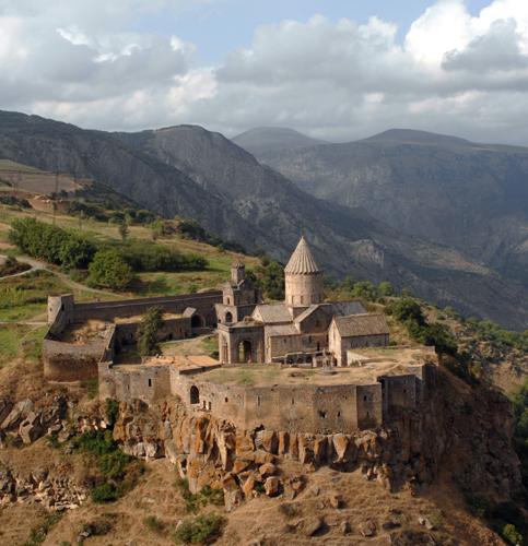 Das prächtige Tatev Kloster in Armenien. (Foto: Hrair Hawk)