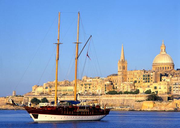 Von zwei prächtigen Naturhäfen umgeben: Maltas Hauptstadt Valletta. (Foto: Karsten-Thilo Raab)