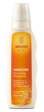 Weleda Sanddorn Reichhaltige Pflegelotion D