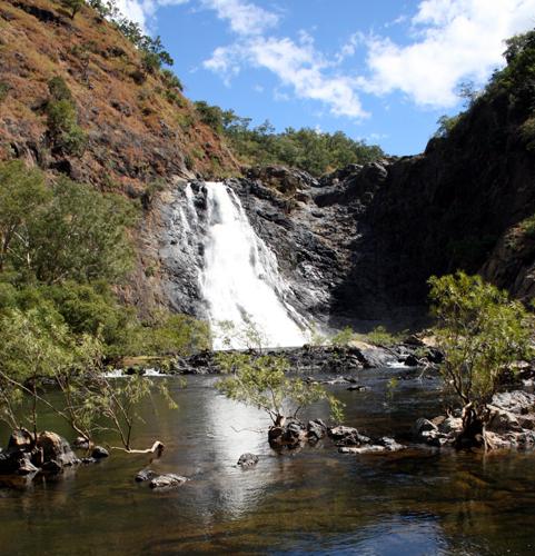 Heiligtum der Aborigines: Die Bloomfield Falls in Wujal Wujal. (Foto: Karsten-Thilo Raab)