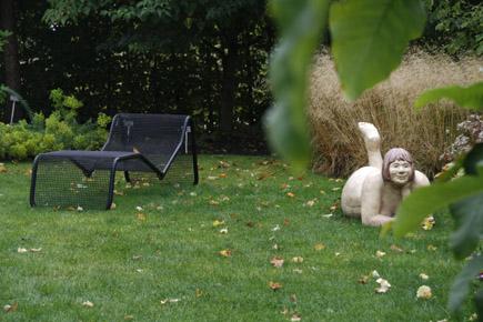 Ammerländer Humor im Park der Gärten in Bad Zwischenahn. (Foto: Udo Haafke)