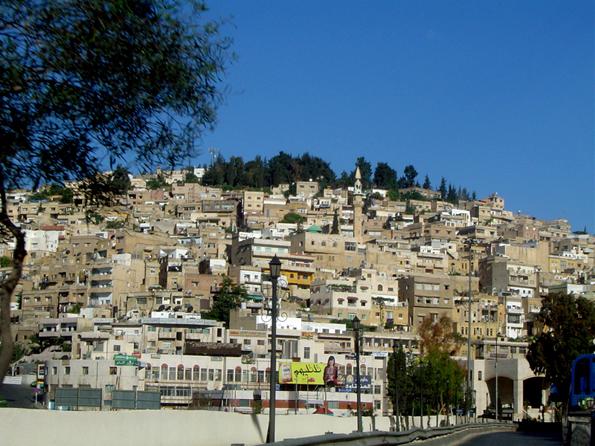 As-salt war dereinst die erste Hauptstadt des Königreichs Jordanien. (Foto: Omernos)