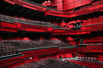Der Hauptkonzertsaal besticht durch eine exzellente Akustik. (Foto: Karsten-Thilo Raab)