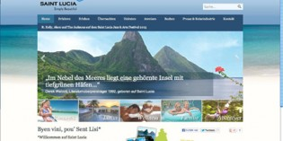 Deutsche Website von Saint Lucia jetzt online